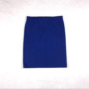 Cobalt Blue Vince Camuto pencil skirt.